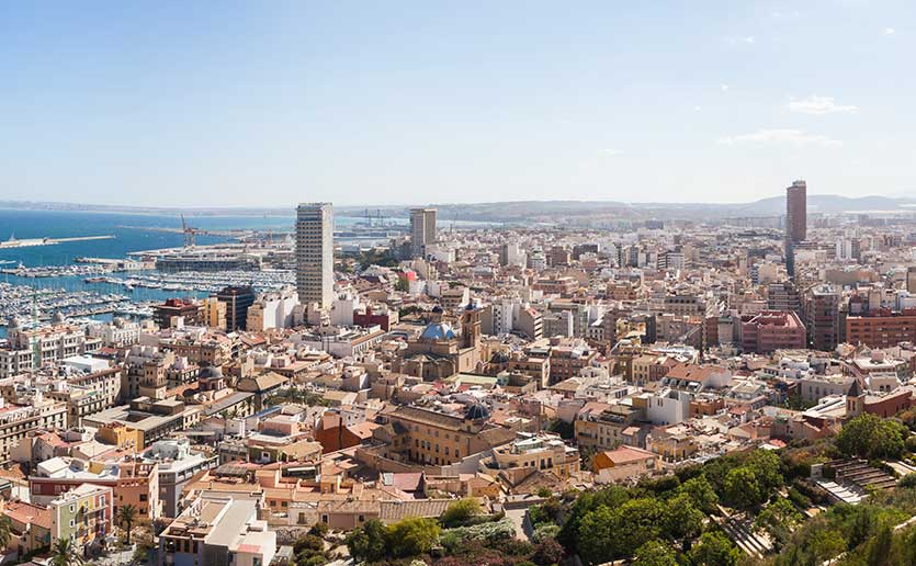 испания недвижимость города аликанте
