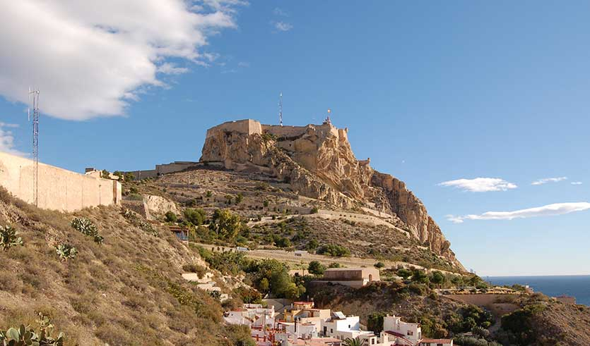 Замок Санта-Барбара, Аликанте (Castillo de Santa Bárbara)