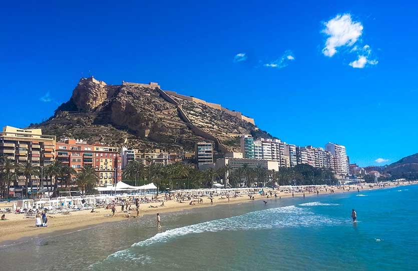 Недвижимость в Аликанте рядом с пляжем