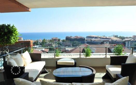 Элитная квартира на продажу в Турции (Анталия — Алания (район Конаклы) — Alanya)