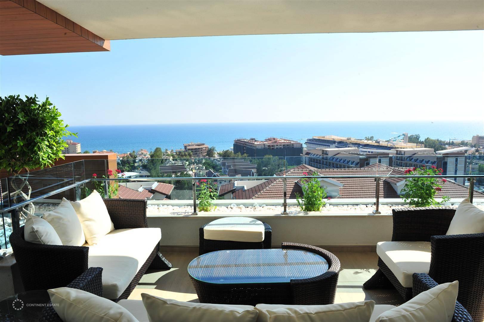 Квартира в Турции, Алания, Конаклы (Анталия) — недвижимость за рубежом:  объект № CEI65616