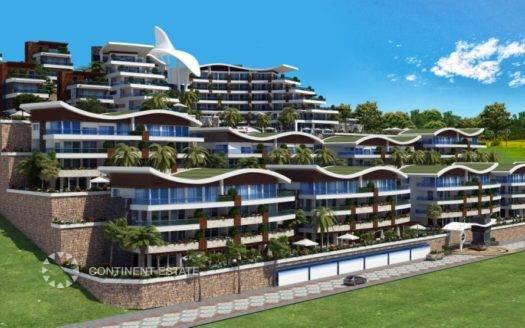 Апартамент недалеко от моря на продажу в Турции (Провинция Анталия — Алания (район Конаклы) — Alanya)