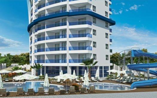 Апартамент недалеко от моря на продажу в Турции (Провинция Анталия — Алания (район Махмутлар) — Alanya)