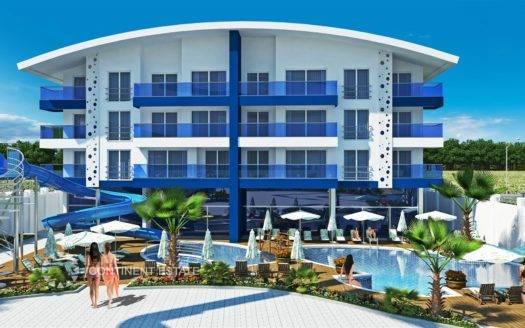 Апартамент недалеко от пляжа на продажу в Турции (Анталия — Алания (район Махмутлар) — Alanya)