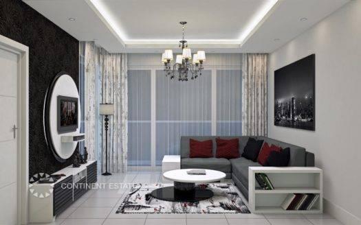 Квартира недалеко от моря на продажу в Турции (Анталия — Алания (район Авсаллар) — Alanya)