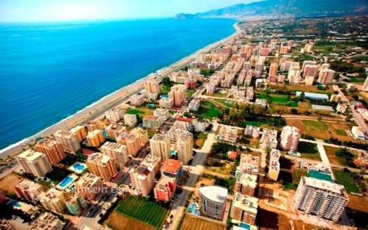 Пентхаус недалеко от моря на продажу в Турции (Провинция Анталия — Алания (район Махмутлар) — Alanya)