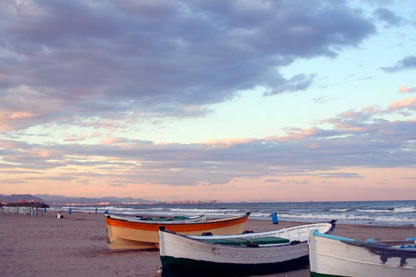 Пляжи, Валенсия