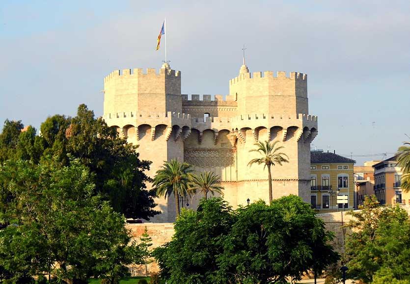 Ворота Серранос, Валенсия