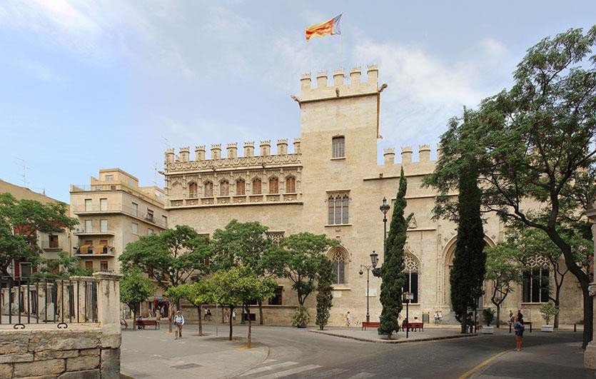 Шелковая Биржа, Валенсия