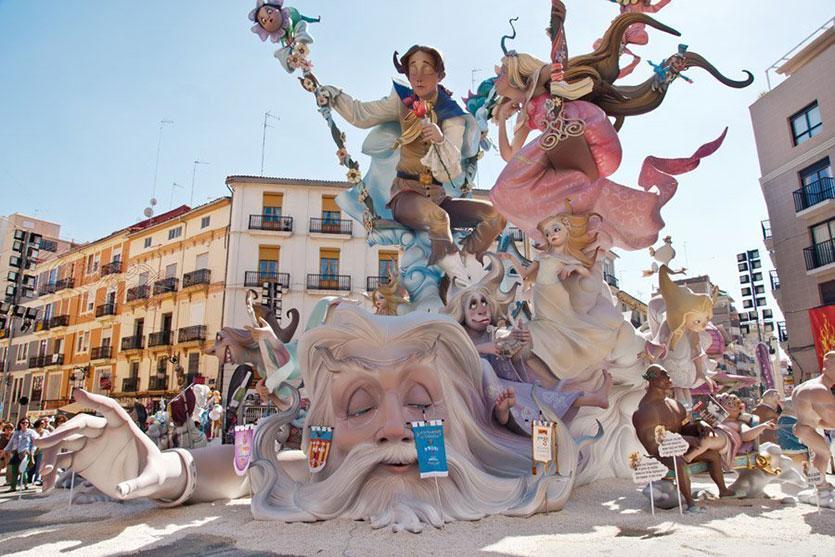 Фестиваль Огня, Валенсия