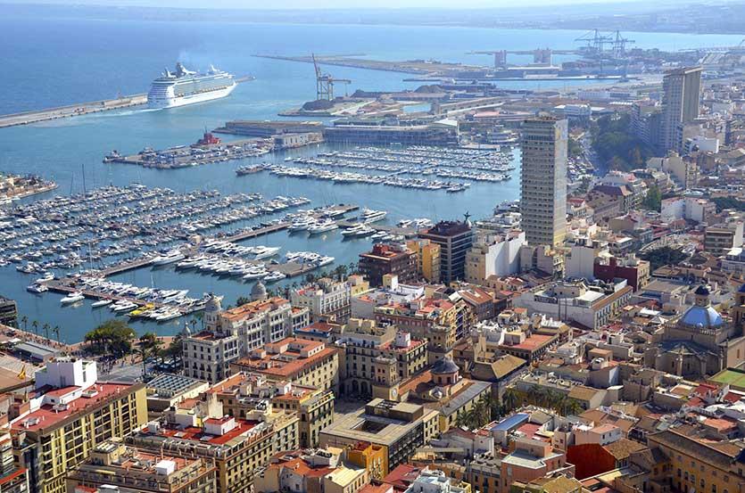 Морской порт, Валенсия