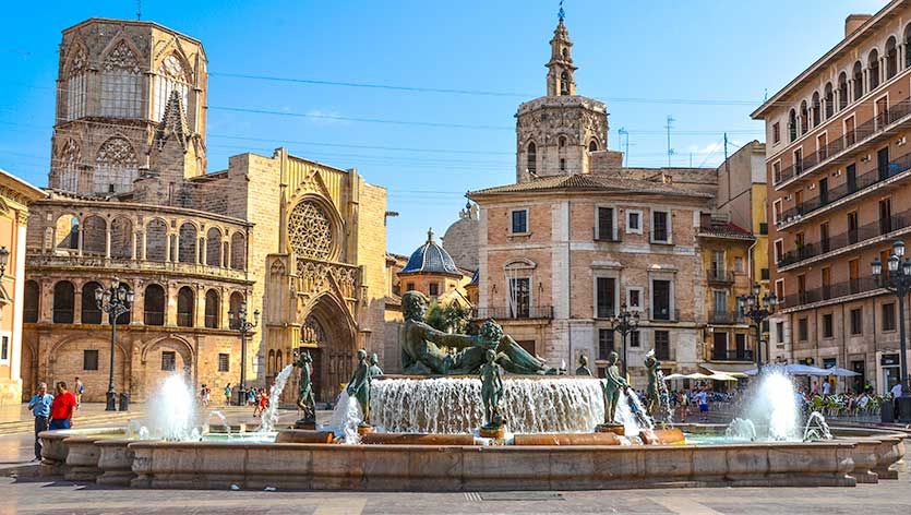 Площадь Богородицы, Валенсия