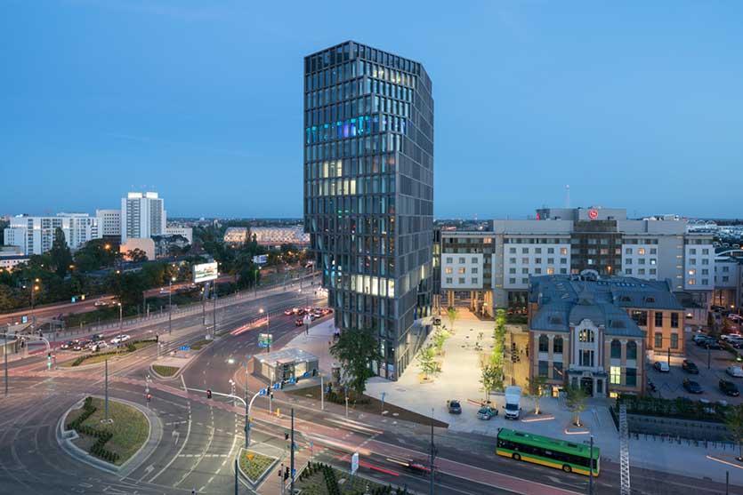 Рынок коммерческой недвижимости в Польше, Офисные помещения, 2017 год