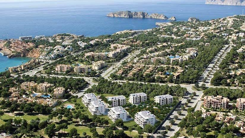 Апартаменты в новостройке на продажу в Испании (Балеарские острова, Остров Мальорка — Mallorca)