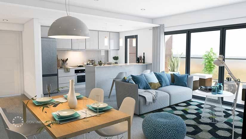 Апартаменты в новостройке рядом с побережьем на продажу в Испании (Коста Бланка — Javea)