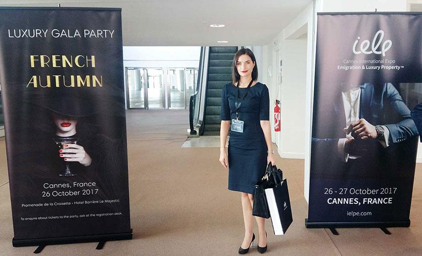 Continent Estate Investment на международной выставке по иммиграции и недвижимости Cannes International Emigration & Luxury Property Expo 2017