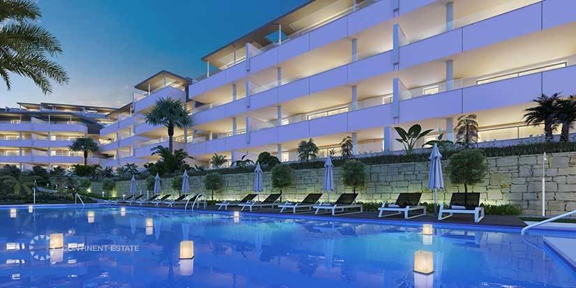 Апартаменты в новостройке на продажу в Испании (Побережье Коста-дель-Соль, Benahavis — Alcurzuz)