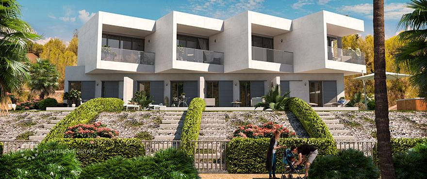 Таунхаусы в испании купить недвижимость в юрмале на побережье