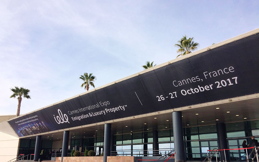 Международная выставка Cannes International Emigration & Luxury Property Expo 2017