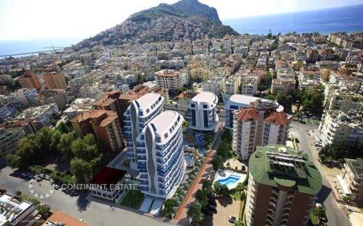 Квартиры в центре города на продажу в Турции (Анталья — Аланья (Новостройка) — Alanya)
