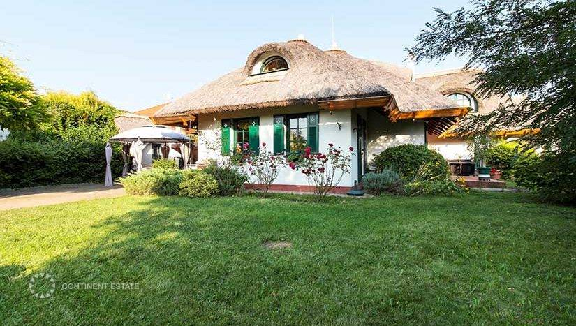 Усадьба на продажу в Венгрии (Центральная Венгрия — Будафок-Тетень — Будапешт, 22-й район)