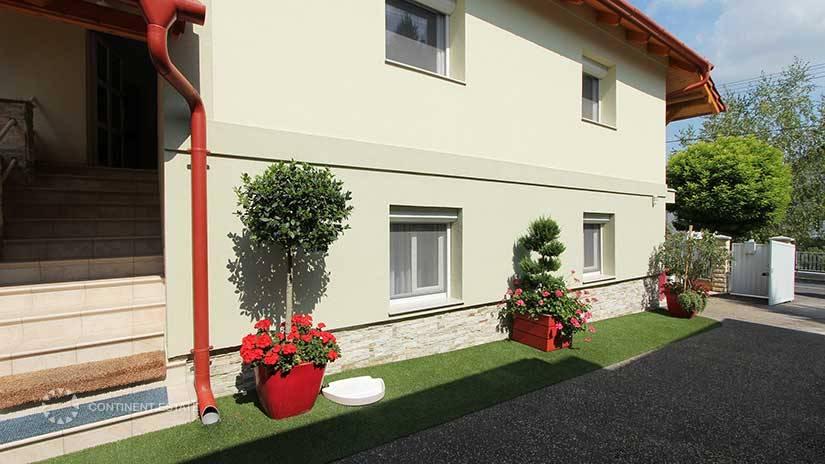 Двухэтажный дом на продажу в Венгрии (Западная Трансданубия, курорт Хевиз — Heviz)