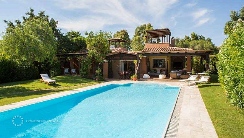 Вилла в аренду близко к пляжу в Италии (Остров Сардиния, Кальяри — Domus de Maria)